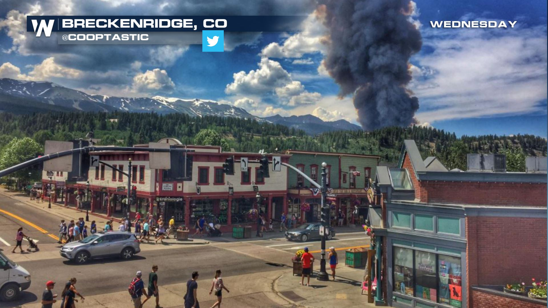 Wildfire Forces Hundreds to Evacuate in Breckenridge Colorado