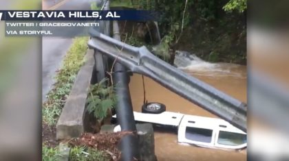 Heavy Rainfall Leads to Flash Flooding in Alabama