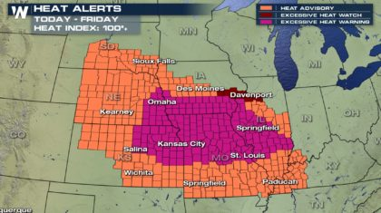 Excessive Heat to Torch Midwest