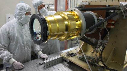 Finished GOES-S Satellite Slated for Launch in 2018