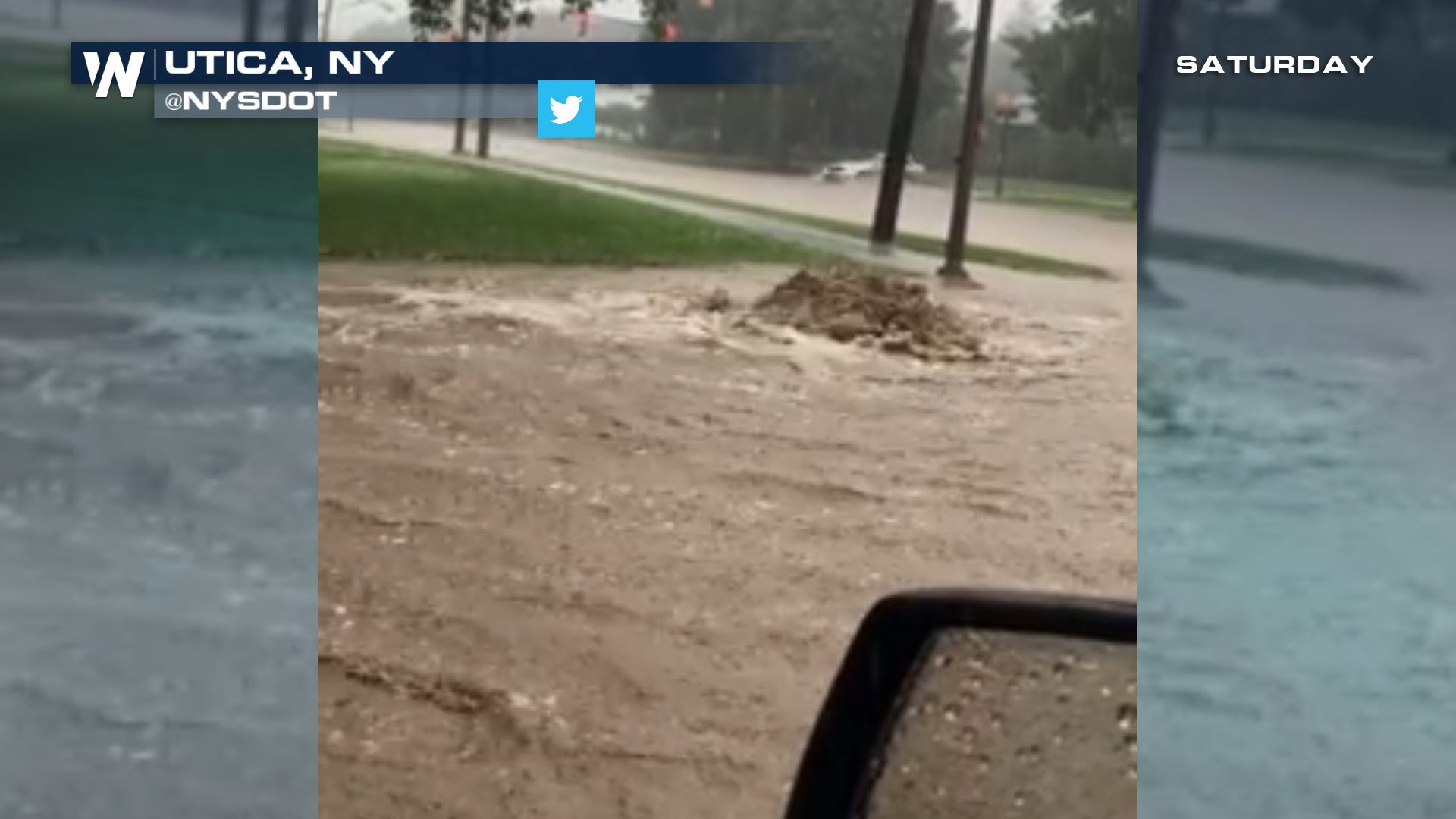 Flash Flooding Hits The Northeast Saturday
