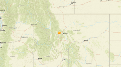 Magnitude 5.8 earthquake reported in Montana