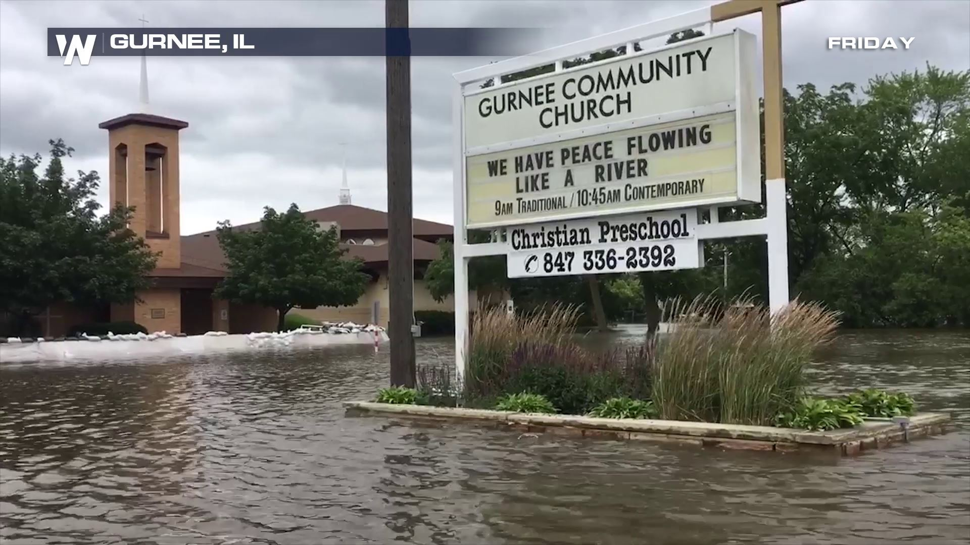 State of Emergency in Illinois as Major Flooding Continues