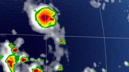 Tropical Depression Four Forms in Atlantic