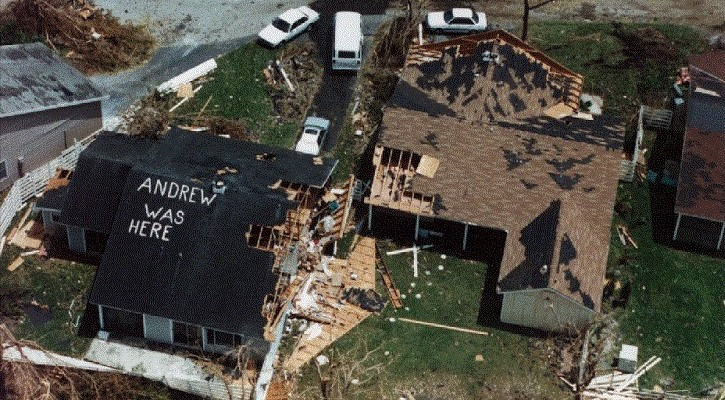 Hurricane Andrew 25 Years Ago: What it was Like to Work in a Category 5 Storm