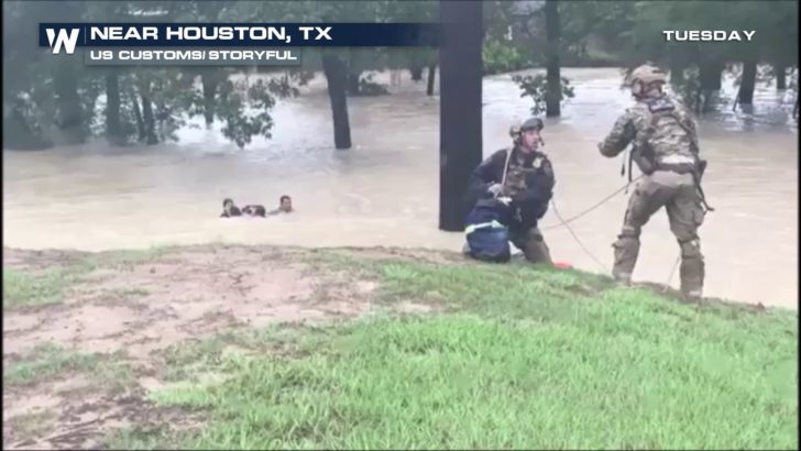 HARVEY LATEST: Fire at Houston Chemical Plant