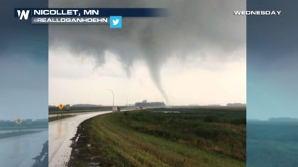 Confirmed Tornadoes in The Upper Midwest Wednesday