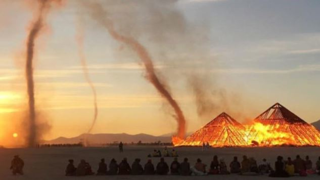 Radical Weather at Burning Man