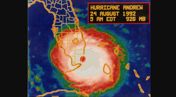 25th Anniversary of First Ever Tropical Cyclone Track Forecast from a Global Forecast Model, Occurred During Hurricane Andrew