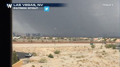 One Person Missing, Several Rescued in Las Vegas Flooding