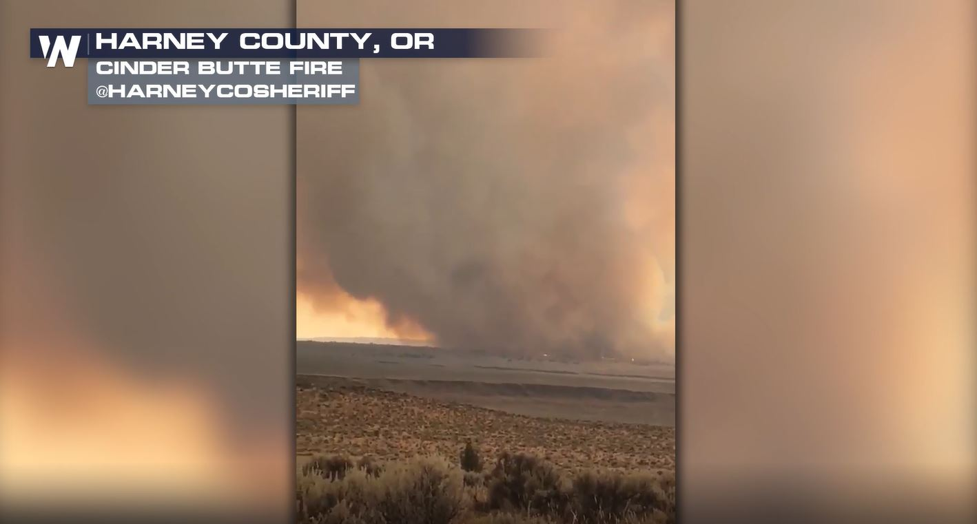Oregon Fire Reaches 30,000 Acres
