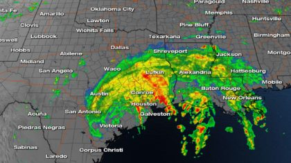 50 inches of rain would exceed any previous Texas rainfall record, NWS says
