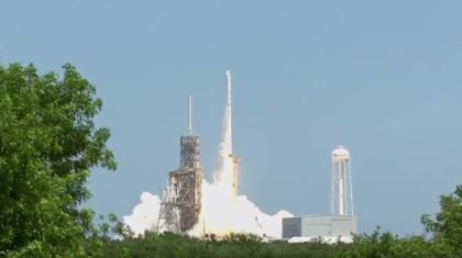 SpaceX Launches International Space Station Resupply Mission