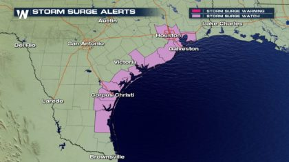 First-Ever Operational Storm Surge Watch Issued
