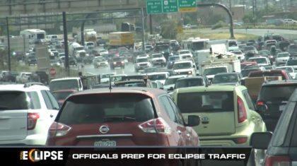 Eclipse to Cause Traffic Jams