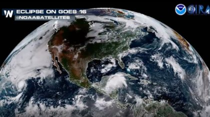 VIDEO: The Eclipse Seen From Space