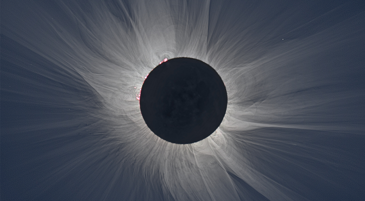 The Atmospheric Impact From the Eclipse