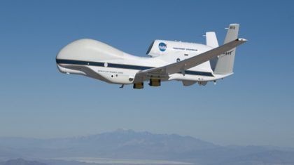 Dropwindsonde Data from Global Hawk used for First Time During Hurricane Franklin