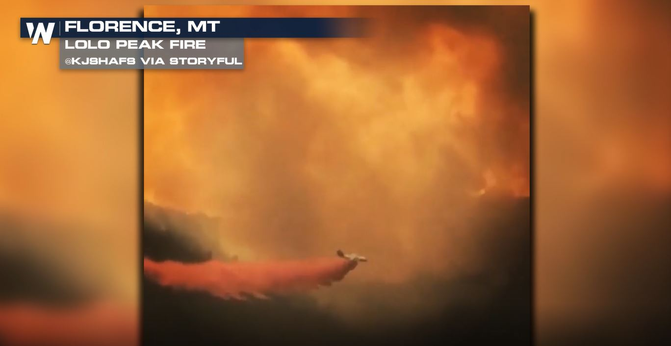 Lolo Peak Fire Reaches Over 32,000 Acres, Burns Two Homes