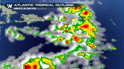 Updated: Tropical Disturbance Poses Low Threat to Caribbean