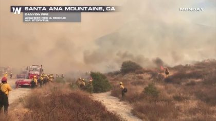 Wildfire Erupts and Threatens Residents of SoCal