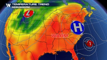 More on the Record Breaking Heat in the US