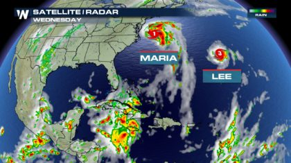 Lee Became The Fifth Major Hurricane This Season