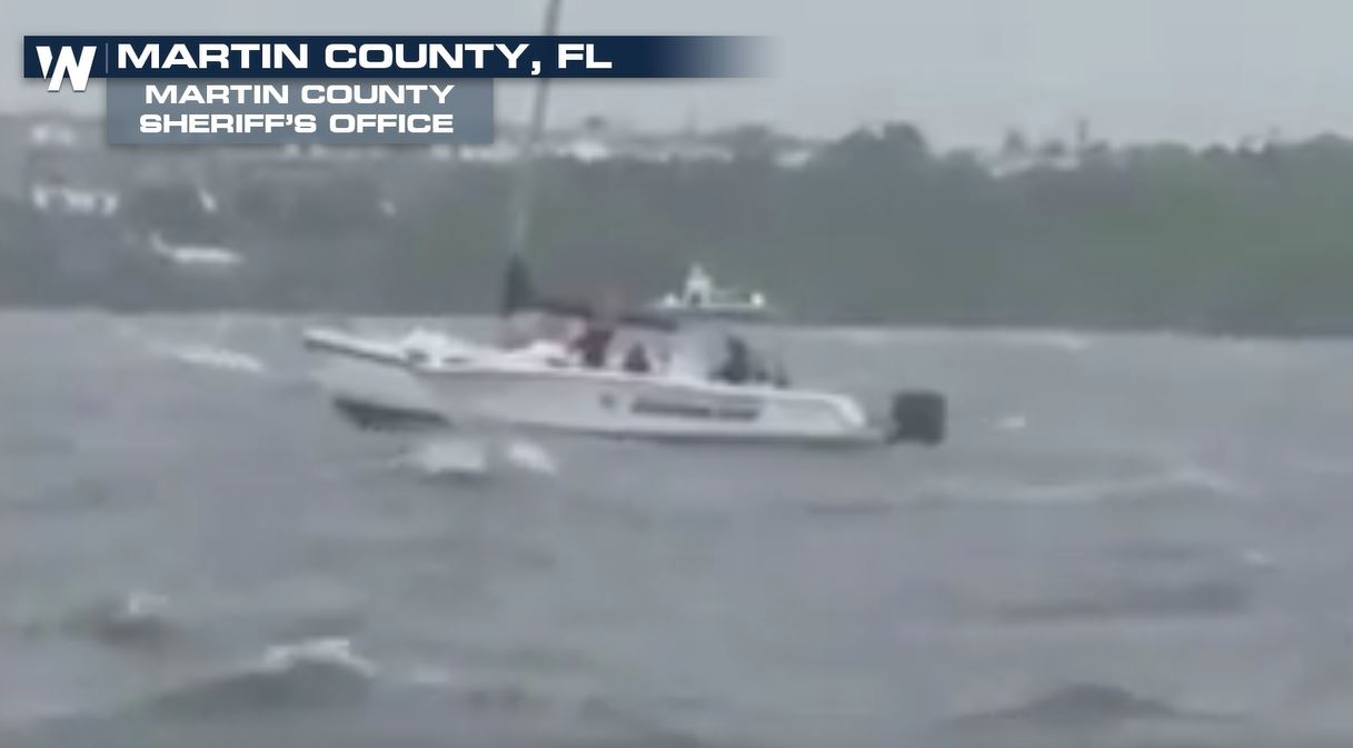 Sheriff's Office Rescues Stranded Sailors off Florida Coast During Irma