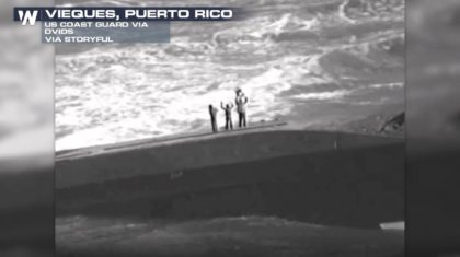 Three People Rescued From Vessel After Hurricane Maria