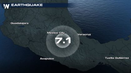 7.1 Magnitude Earthquake Shakes Mexico