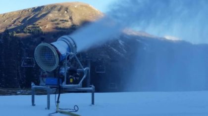 Ski Season Prep Begins as Snowmaking Starts