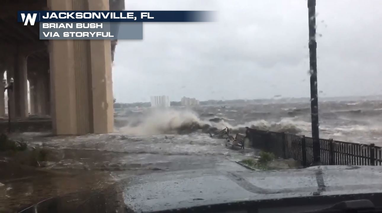 Flash Flood Emergency in Jacksonville, Florida