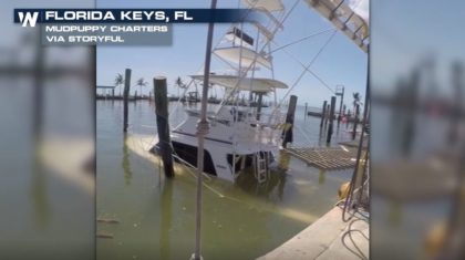 Bars Destroyed and Boats Submerged After Irma Hits Florida Keys