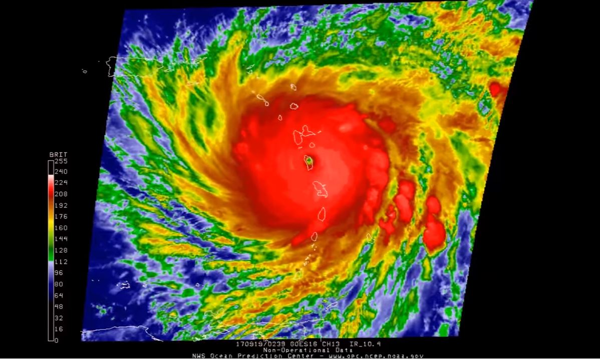 Hurricane Maria Brings 'Widespread Devastation' to Dominica