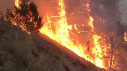 Fires in Montana Continue