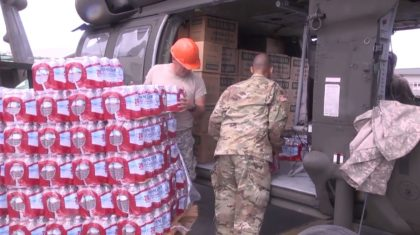 National Guard Soldiers Deliver Supplies to Vieques and Culebra