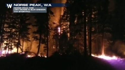 Month-Old Norse Peak Fire Tears Through 52,000 Acres