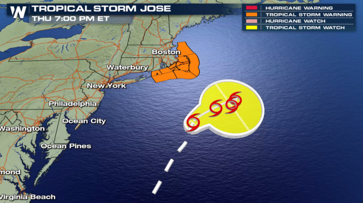 Swells Generated By Jose Are Affecting Bermuda And Much Of The U S East Coast And Will Likely Cause Dangerous Surf And Rip Current Conditions During The