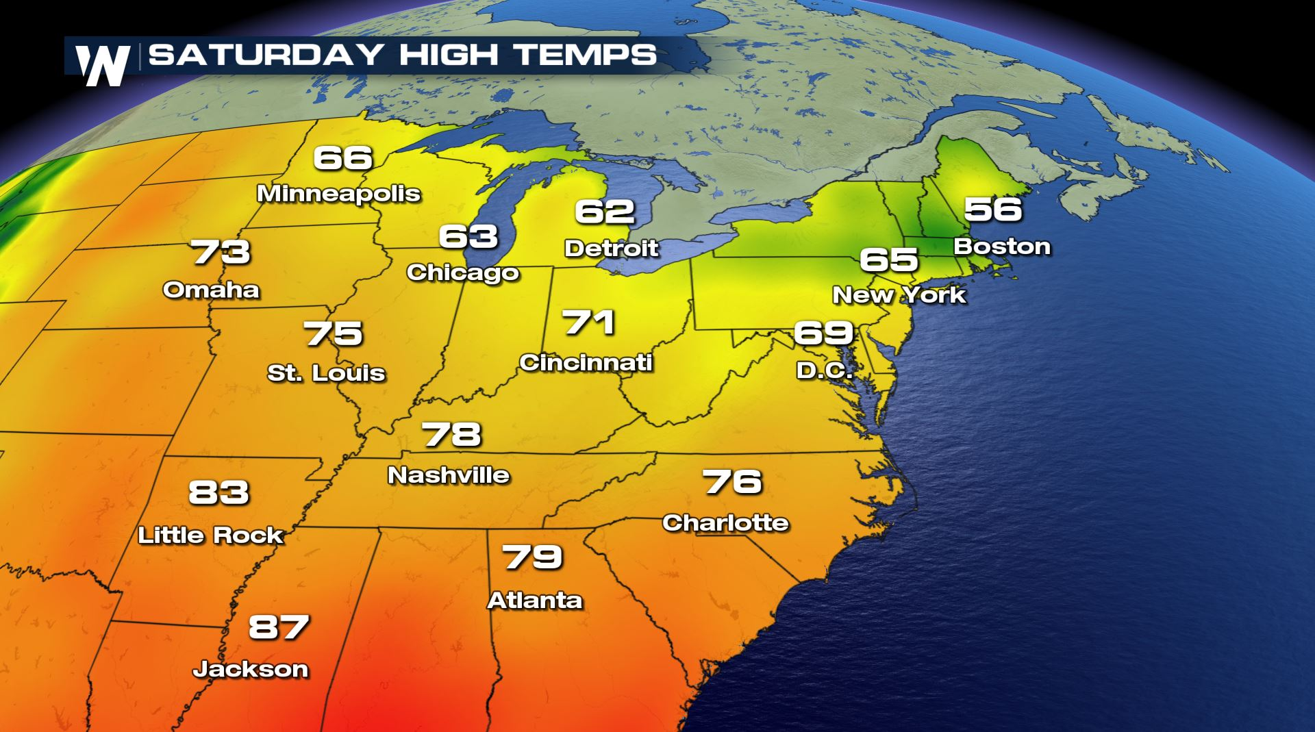 Cooler Weather Is Coming To The Northeast