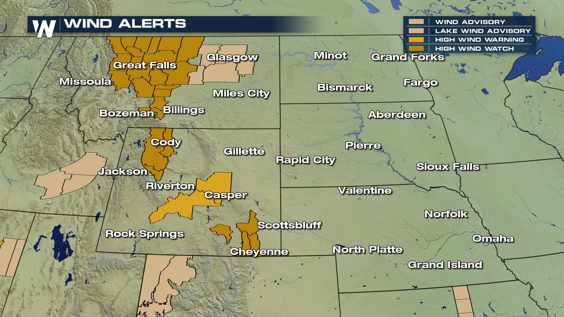 Now into the Weekend: Fire and Wind Concerns Across High Plains