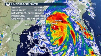 Nate is the Fastest-Moving Hurricane Recorded in the Gulf of Mexico