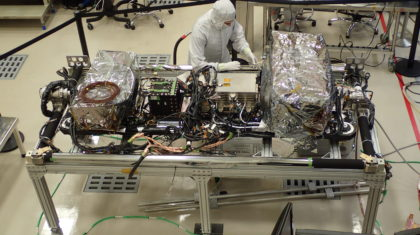 """Satellite Update: GOES-T Satellite """"Brains"""" and """"Body"""" Come Together"""