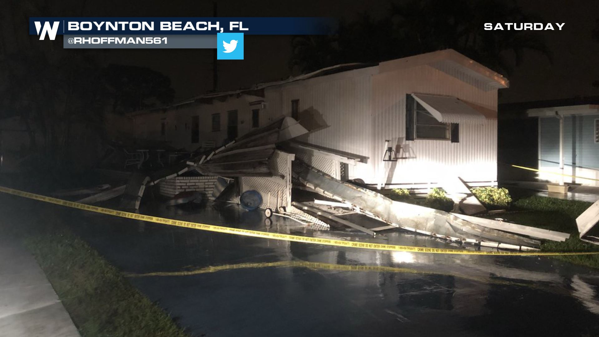 Two Tornadoes Confirmed in South Florida From Saturday
