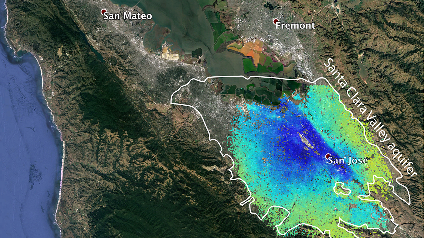 satellites see silicon valley u0026 39 s quick drought recovery