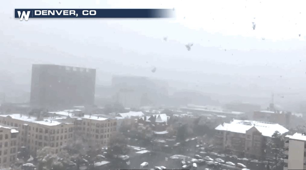 Denver Sees First Snowstorm of the Season