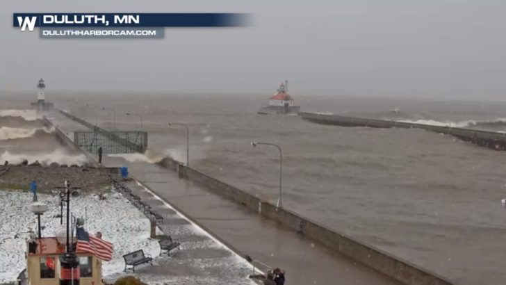 Rough Waters on Lake Superior