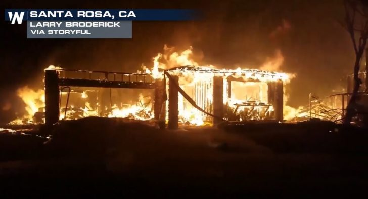 Tubbs fire most destructive wildfire in california history for Facts about house fires