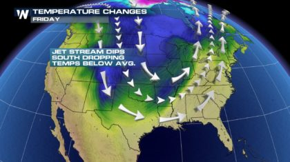 Major Cold Blast to End the Week