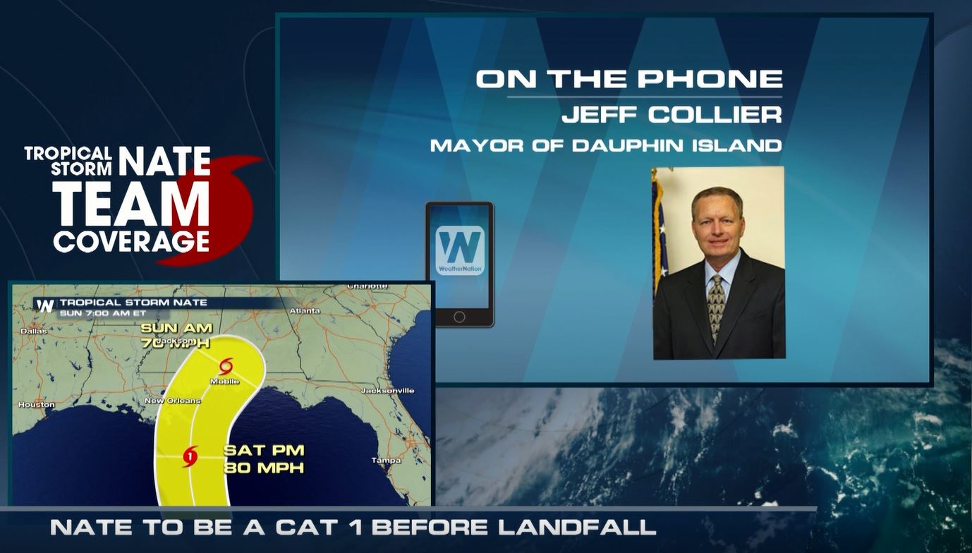 Dauphin Island Mayor Talks About How the Island is Preparing for Nate