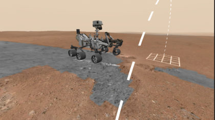Take a Walk on Mars -- in Your Own Living Room